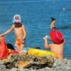 Анапа пляж яхт-клуба первая половина августа дети
