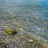 Анапа пляж яхт-клуба первая половина августа чистота воды в море
